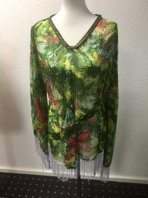 Ibiza Flower Beachwear khaki