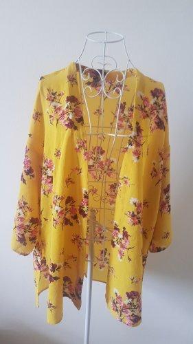 H&M Odzież plażowa żółty-malina