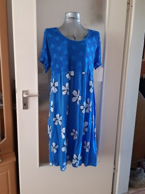 Made in Italy Beach Dress blue