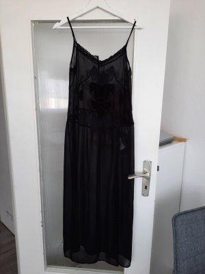 Bershka Vestido playero negro