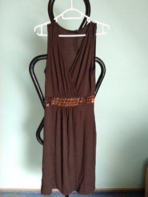 Maui Wowie Sukienka plażowa ciemnobrązowy