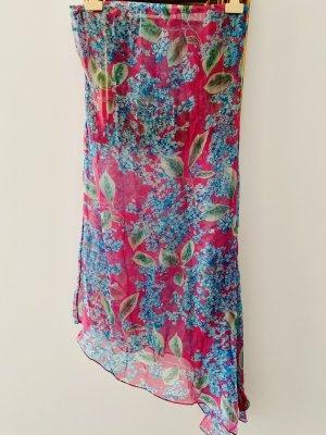Dolce & Gabbana Szyfonowa sukienka Wielokolorowy