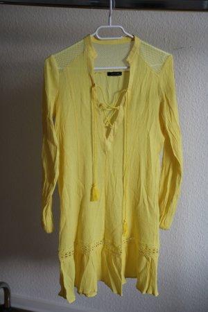 TRENDYOL Vestido playero amarillo