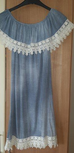 Beach Dress light blue-azure