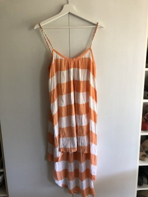 bamboo blonde Beach Dress white-apricot