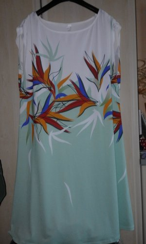 Beach Dress turquoise polyester