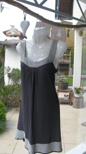 Strandkleid der Designerin  Heidi Klein blau/silber