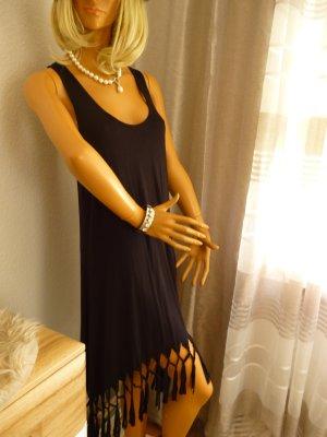 beachtime Beach Dress black viscose