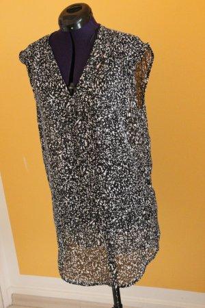 H&M Lange top wit-zwart