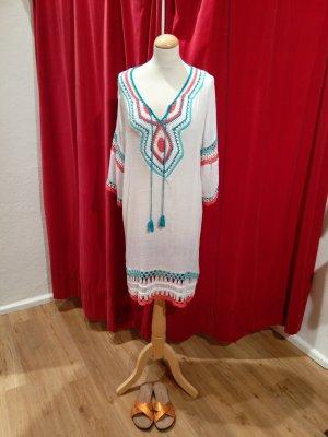 Beach Dress multicolored cotton