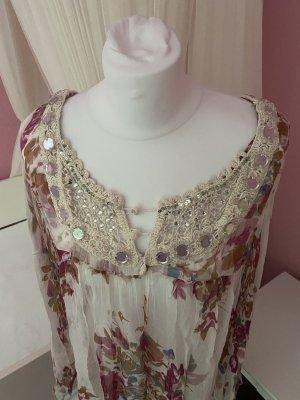 Set Beach Dress rose-gold-coloured-cream