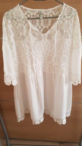 Italien style Beach Dress white