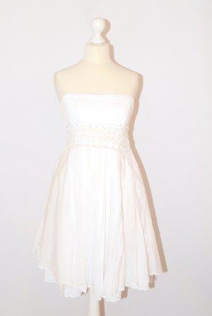 no name Beach Dress white