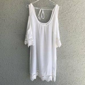 Bodyflirt Beach Dress white-natural white