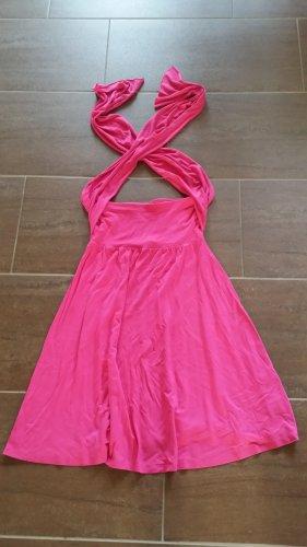 Lascana Robe de plage rose