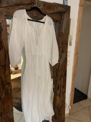 Oysho Beach Dress white