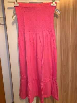 Bluemotion Sukienka plażowa jasnoczerwony-ciemnoniebieski