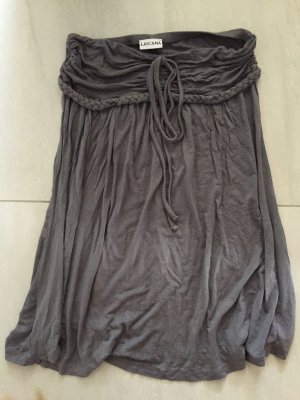 Lascana Robe épaules nues gris brun