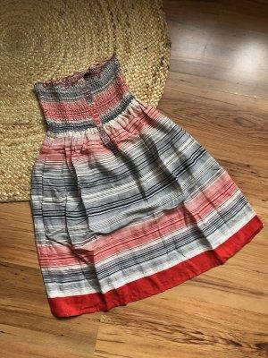 Mango Bandeau Dress multicolored