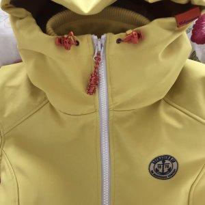 Adenauer & Co Manteau de pluie jaune fluo polyester