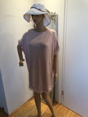 Maglione a maniche corte rosa