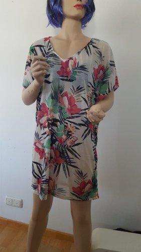 Strandshirt mit Blumenprint