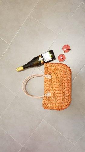 Basket Bag dark orange