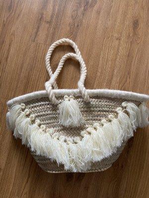 Basket Bag natural white-beige