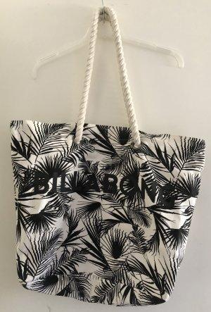 Billabong Shoulder Bag white-black cotton