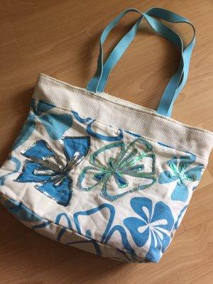 Strandtasche mit Pailletten