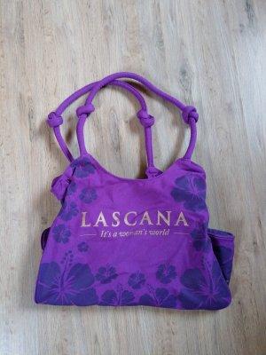 Strandtasche Tasche lila lascana neu