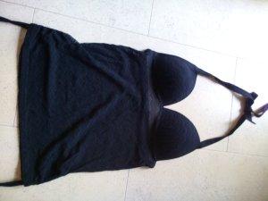 Robe de bain noir polyester