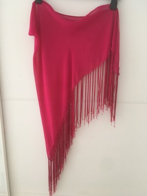 Beach Towel magenta viscose