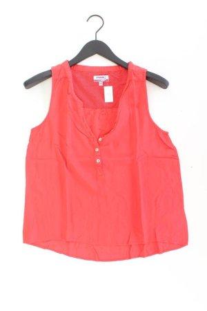 Strange Ärmellose Bluse Größe M rot aus Viskose