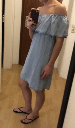 Pimkie Off-The-Shoulder Dress azure