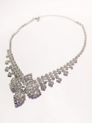 Bijou Brigitte Necklace silver-colored-white