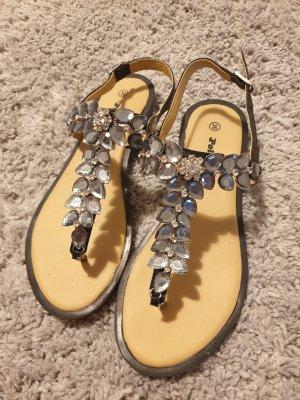 Strass Sandalen Flip Flops 36