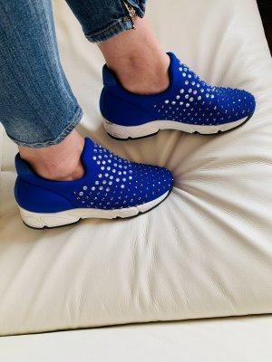 nila&nila Instapsneakers blauw