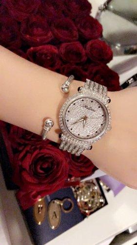 Melissa Analoog horloge zilver