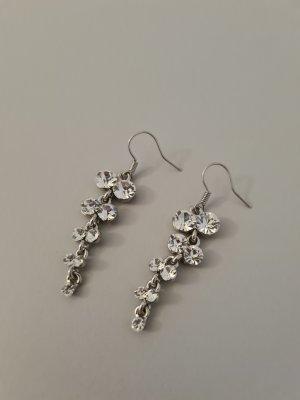 Scarlet Bijoux Bungeloorbellen zilver