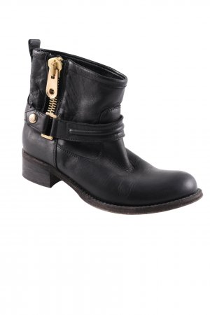 Strategia Ankle Boots schwarz Casual-Look