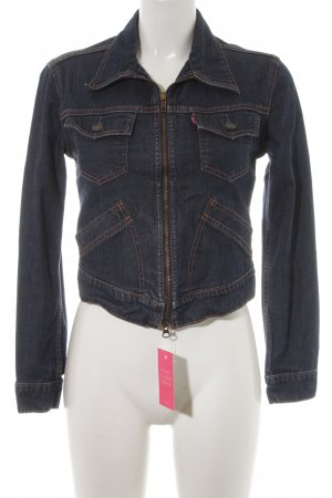 Strauss Jeansjacke blau Casual-Look