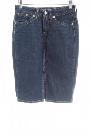 Strauss Jeansrock blau Casual-Look