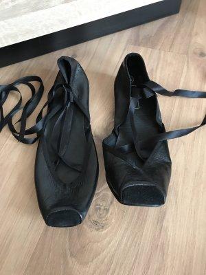 Strauss Strappy Ballerinas black