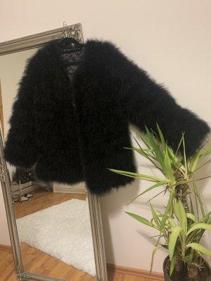 Velvet Victory Fur Jacket black