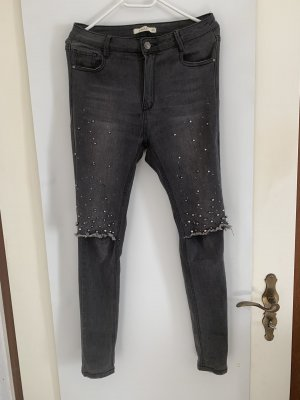 Stretch Jeans anthracite