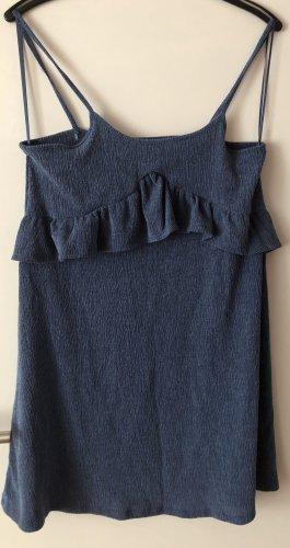 C&A Clockhouse Letnia sukienka stalowy niebieski