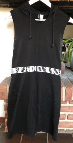 Strech-Kleid von H&M mit Kapuze Gr.: 38