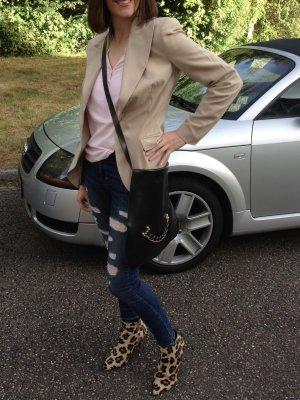 Strech Löcher Jeans sehr bequem 36