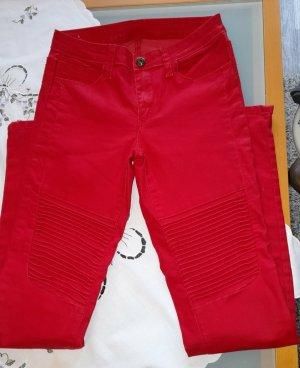 just B. Jeans elasticizzati rosso-rosso mattone Cotone